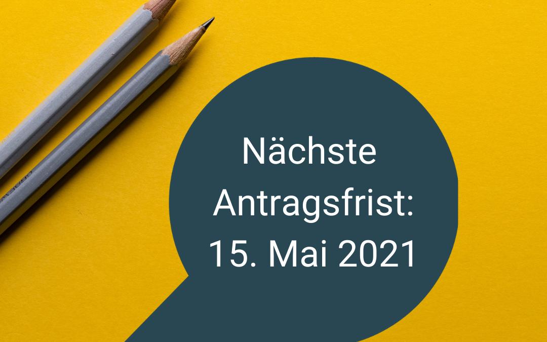 Neue LHP-Antragsfrist: 15. Mai 2021