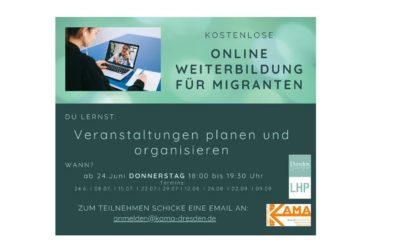 Teilhabe durch Ehrenamt – Schulung für Menschen mit Migrationshintergrund